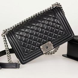 Wholesale Le Purse - hot black lambskin leather LE women shoudler bag purse high quality Women messenger Bag Famous Designer Brand Women handbag