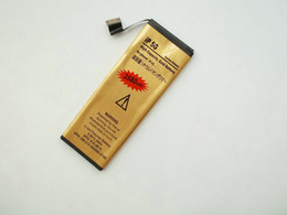 Wholesale High Pa - High Quality Li-ion Battery Golden For iphone 5 5G 5C Battery 2680mah Capacity Replacement Battery for iPhone 4 4S 4G Battery with Retail pa