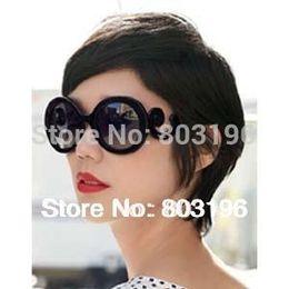 Brazos de gafas de sol online-5 Unids / lote Envío Gratis Gafas de Sol Antiguas Mujeres Barroco Remolino Armas Gafas de Sol Gafas de Sol de Moda