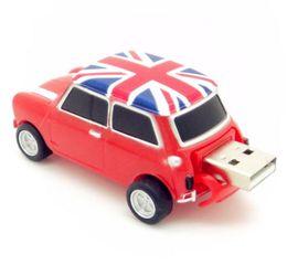 Wholesale Free Mini Cooper - Real 2gb 4gb 8gb 16gb 32gb mini cooper Car shape USB Flash Drive pen drive memory stick drop free shipping