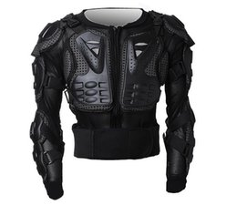 Wholesale Motorcycle Armor Protection - New Arrival!! Professional Motorcycle Full Body Armor Jacket Spine Chest Protection Gear Bike Racing Armor Size S-3XL