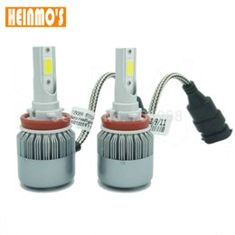 Wholesale Kit Led H1 - NEW 36W 7600LM H3 Car LED Headlight Kit cob headlamp H1 H7 H9 H11 H8 9005 HB3 9006 HB4 880 881 motorcycle car headlamp fog light