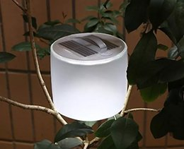Wholesale Solar Lights Inflatable - Solar lantern inflatable,Solar Powerd Original Portable Waterproof Light Event Party Supplies for outdoor camping lamp LLFA