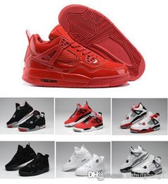 50d37da9c516 New high top 4s 4 Pure Money Royalty White Cement Premium Black Bred Fire  Red men s basketball shoes cheap 1 1 sneakers