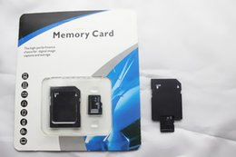 Wholesale 64gb Micros Sd Card - Wholesale 32GB 64GB 128GB Micro SD Card Class 10 SDHC card TF Memory Cards with Free SD Adapter Packaging Free DHL 100pcs lot