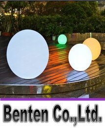 Wholesale Lawn Floor Lights - 35cm Outdoor LED Decorative Ball Lighting Home Garden Landscape Lights Floor Lawn Lamp Swimming Pool Ball Lamps LLFA4875F