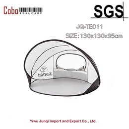 Wholesale Blue Shelter - Wholesale- Pop Up Beach Shade and Sun Shelter White UV30 Sun Guard Protection Indoor Tent
