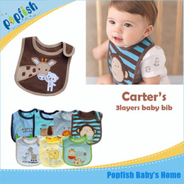 Wholesale Kids Designer Wholesale Clothes - 10pc free Shipping new fashion designer baby bibs for babies kids boys girls baby clothes clothing Cotton Towel bib wear