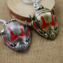 Wholesale Car Ant - Hot Selling Ant Man Keyring Keychain Movie Series Key Ring Best Promotion Gifts 2 colors Free shipping wish_team W965