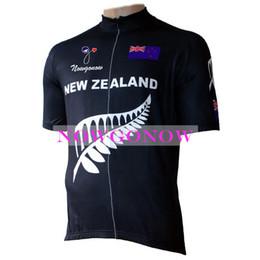 2019 rosso pattino di ciclismo NUOVO 2016 cycling jersey Nuova Zelanda abbigliamento abbigliamento bici abbigliamento equitazione MTB road ropa ciclismo NOWGONOW cool bicyce full zip Poliestere nero