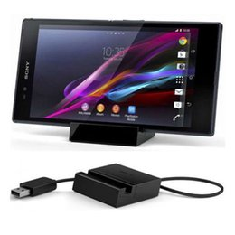 Wholesale Docking Xperia Z - Magnetic Charger Dock Station Stand Cradle For Sony Xperia Z Ultra XL39H Z1 L39H
