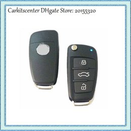 Wholesale Transmitter Chip - Carkitscenter old Positron remote key for Audi A6 style car alarm remote control for Brazil Positron HCS300 chip BX019A
