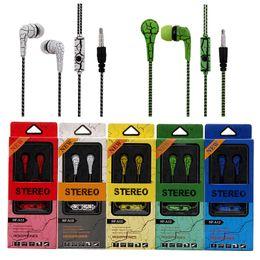 Hohe Qualität 3,5 mm SF-A12 Kopfhörer Riss In Ohr Musik Hifi Headset mit Mikrofon Ohrhörer für Handy Mp3 von Fabrikanten