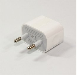 einzelverkauf iphone 5s aufladeeinheit Rabatt 2 in 1 EU US 5V 2A Wandreiseadapter Haus POWER Ladegerät USB Cale Datumsgrenze + Kleinkastenpaket Für iphone 5 5s 5c 6 6s plus Samsung neu