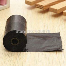 Wholesale Dog Bags Roll - 5 rolls LOT 100pcs Pet Dog Garbage Clean-up Bag Pick Up Waste Poop Bag Refills Home Supply Free Shipping order<$18no track
