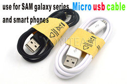 Wholesale Galaxy Wholesale Prices - samsung micro usb cable v8 connector for galaxy round cable 1 merter 3.3ft in best price and quality