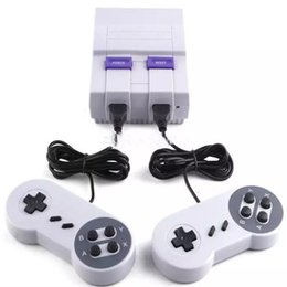 Wholesale Mini Retail - Super Mini Classic SFC TV Handheld Game Console Video Entertainment System For Nes SNES Built-in 400 660 Games Super Nes With Retail Box