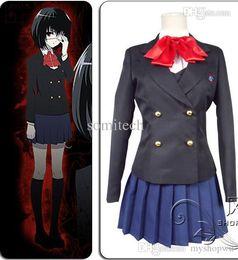 Wholesale Akazawa Izumi - Wholesale-plus size kids clothes Another Misaki Mei Akazawa Izumi costume anime cosplay girls japanese school uniform skirt Custom made