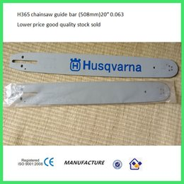 Wholesale Parts For Chainsaws - H365 68 372 chainsaw guide bar three length for you choose
