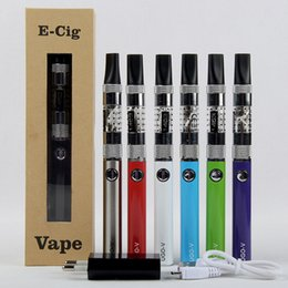 Wholesale Ego Vv Passthrough Black - Good Selling EVOD USB Passthrough Battery EGO VV 650 900 mah UGO-V E cigarette Ugo-V 1453 Clearomizer Starter Kit