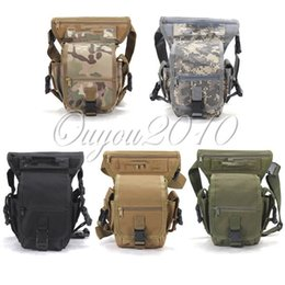 Wholesale Swat Drop Leg - Fashionable Swat Military Waist Pack Weapons Tactics Outdoor Sport Ride Leg Bag Special Waterproof Drop Utility Thigh Pouch