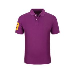 Wholesale new fashion brand boy s - New Fashion Men Polo Famous Brand Clothes Embroidery Logo Men Casual Male Cotton Boy Polos Shirt