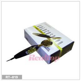 Wholesale Galvanic Massage - Portable Microcurrent Galvanic Bio Face massage Tightening Deluxe Golden Spoon Facial Skin Care beauty machine free shipping