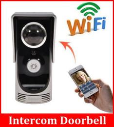 Wholesale Intelligent Doorbell - Intelligent WiFi Camera Video Door Intercom Doorbell Motion Detection PIR Function Doorbell Water Resistance Camera Connect Mobile