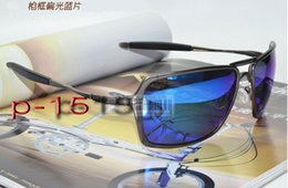 Wholesale Copper Mirror Frame - 2016 Top Quality Inmate 11 Color Frame Metal Frame Polarized Lens Outdoor Men Sport Sunglasses With full Package