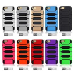 Wholesale Piano Silicone Case - Hybrid Combo Tank Armor Rubber Rugged Robot Case TPU+PC Piano Cases Cover for iPhone 5S 5 6 6S Plus SAMSUNG GALAXY S5 S6 NOTE 3 4 DHL
