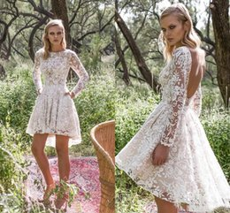 Ivory Western Wedding Dresses Short NZ | Buy New Ivory Western ...