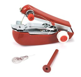 Wholesale Mini Handy Sartorius Sewing Machine - 200pcs lot Mini Handy Clothes Fabric Sartorius Sewing Machine