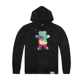 Wholesale Diamonds Hoodies - Wholesale-2015 Autumn Winter Grizzly Grease hoodies Diamond Supply mens thick Grizzly bear Sweatshirt crew neck hoody pullover,ZA093