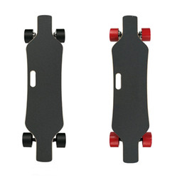 Wholesale Batteries Scooters - Speed 40KM h Four Wheels Electric Skateboard Dual Motors 300W*2 Hoverboard Longboard Scooters Samsung battery Remote Control