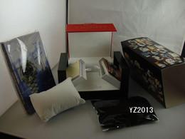 relógios suíços Desconto Alta Qualidade Swiss Original Box de Papel Das Mulheres de Luxo Top Marca Mens Relógios De Pulso Para 1853 Caixas de Relógio Inner Outlet Livreto Cartão Homem Senhora Mulher