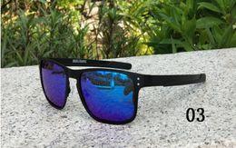 Wholesale Holbrook Polarized Sunglasses - Holbrook Metal 4123 Sunglasses UV400 Lens Sports Sun Glasses Fashion Trend Cycling Eyewear 6 Colors Outdoor Eyewear