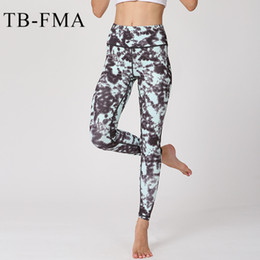 Wholesale Floral High Waist Pants - Women Yoga pants Leggings Floral Fitness Running Tights High Waist Stretchy Dry Fit Sports Leggings Gym Workout Fitness Running
