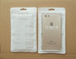 Wholesale Iphone Cove Case - White Waterproof for zipper Retail Package Pouch Poly Plastic Bag Pocket Large for iphone 4 5s 6 plus Samsung Galaxy S3 S4 s5 s6 Case Cove