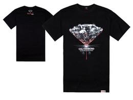 diamant-versorgungsmaterial-hemden freies verschiffen Rabatt Großhandels-Diamant-Versorgungsmaterial Co T-Shirts der Männer arbeiten beiläufige Entwerfermänner T-Shirts kurzes sleeved T-Shirt um Freies Verschiffen T-Shirt