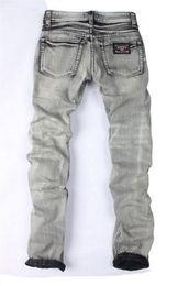 Wholesale Jeans For Large Men - 2016 new SALE mens jeans Embroidery beauty men Straight Cotton Jeans Large Size jeans for men