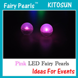 Wholesale White Floating Ball - 12pcs  lot Fairy pearls Waterproof Mini LED Floating Light Ball Fairy LED Light for Party Decoration