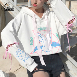 Wholesale Free Shirt Patterns For Women - Sweatshirt For Women Pattern Kwaii Ladies Hoody Shirts Long Loose Tracksuits Autumn Girls Hoodies Fashion Patchwork Sweatshirts