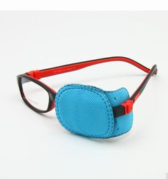 Wholesale Lazy Glasses - Children Amblyopia Eye Patches For Glasses Kids Astigmatism Strabismus Lazy Eye Patch Boys Girls Vision Train 10Lot