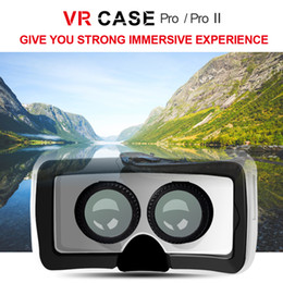 Wholesale Glass 3d - high quality 3D low price VR glass case for smart mobile phone