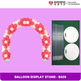 Wholesale Balloon Wedding Arches - Wholesale-B428 Free Shipping Wedding Decoration Balloon Arch with Balloon Ring