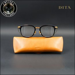 Wholesale Retro Nerd Glasses - STATESIDE Eyeglasses Men Women Retro Large Big Square Clear Lens Unisex Plastic Black Gold Frame Nerd Glasses Eyewear