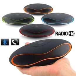 Мини Bluetooth Динамик Беспроводной X-6 Портативный Музыкальный Звуковой Ящик FM Сабвуфер Громкоговорители Громкой Связи с Микрофоном для iPhone 6 Samsung от Поставщики x музыкальный динамик портативный