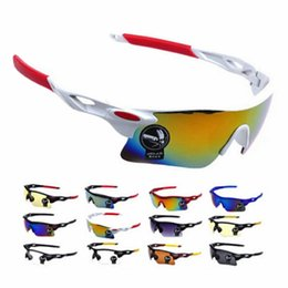 Wholesale color frame clear glasses wholesale - Men Women Cycling Glasses Outdoor Sport Mountain Bike MTB Bicycle Glasses Motorcycle Sunglasses Eyewear Oculos Ciclismo