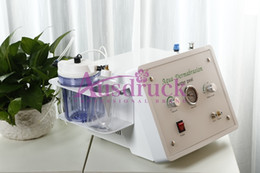 Wholesale Diamond Hydro Microdermabrasion Machine - 2015 NEW Hydro microdermabrasion Aqua Dermabrasion Water Peeling Skin rejuvenation Hydra facial machine Diamond Peel equipment with CE