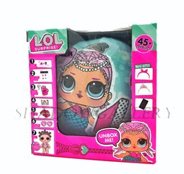 Wholesale Wholesale Statues - Brand New LOL SURPRISE DOLL with packing Dolls Dress Up Toys baby Tear open change egg dolls can spray toys also Anniversary Edition